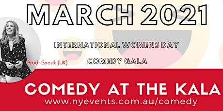 International Women's Day Comedy Gala tickets