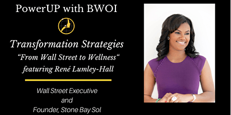 Transformation Strategies: From Wall Street to Wellness tickets