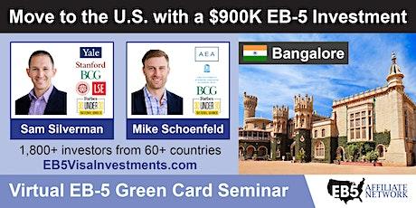 U.S. Green Card Virtual Seminar – Bangalore, India tickets