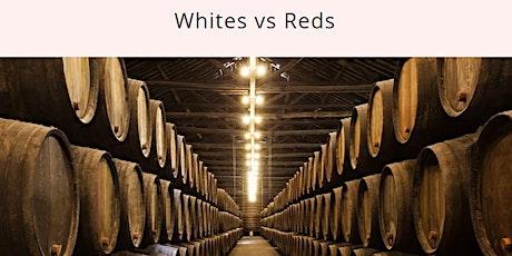 WINE FUNDAMENTAL CLASS: White vs Red Wines, $69 tickets