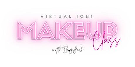 1 on 1 Virtual Makeup Class tickets