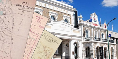 Gawler's history - a journey with maps tickets