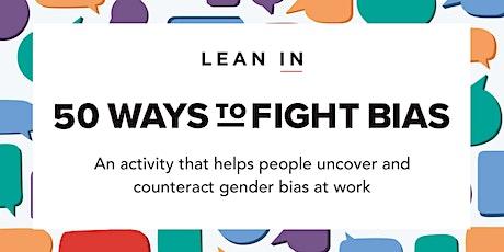 50 maneras de combatir el sesgo de género entradas