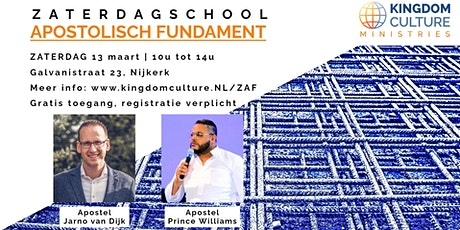 Zaterdagschool - Apostolisch Fundament tickets
