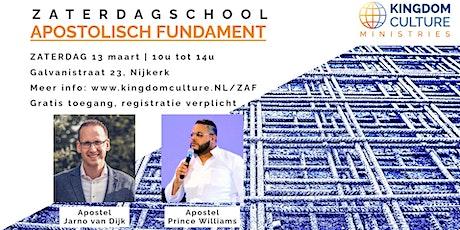 Zaterdagschool - Apostolisch Fundament tickets