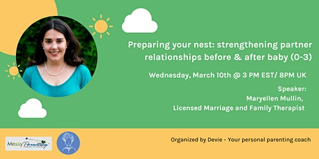 Preparing your nest: strengthening partner relationships tickets