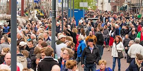 online overleg over Coronaproof Bezoekersmanagement in steden tickets