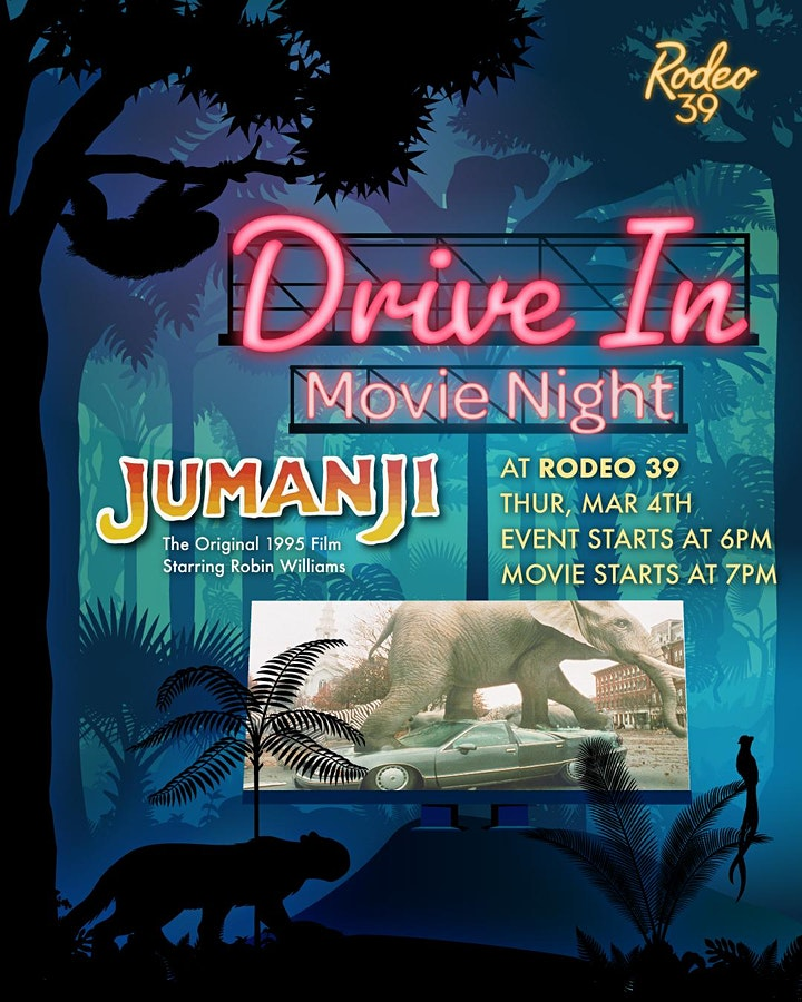 Drive In Movie Night - Jumanji at Rodeo 39 image