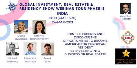 Global Investment, Real Estate & Residency Show II | India tickets