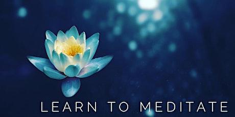 Meditation for Beginnets tickets