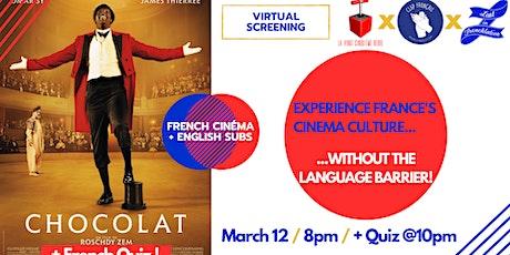 Virtual Movie Night #17: « Chocolat » + French quiz! tickets