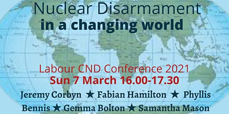 Nuclear Disarmament in a Changing World tickets