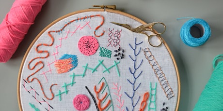Introduction to Hand Embroidery Workshop (Online) tickets
