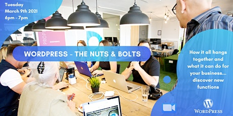 WordPress Academy March | WordPress Nuts and Bolts tickets