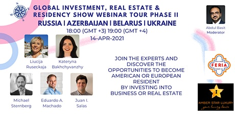 Global Investment, Real Estate & Residency Show II | RUS | AZE | BLR | UKR tickets