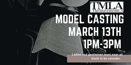The Movement LA ModelCasting tickets