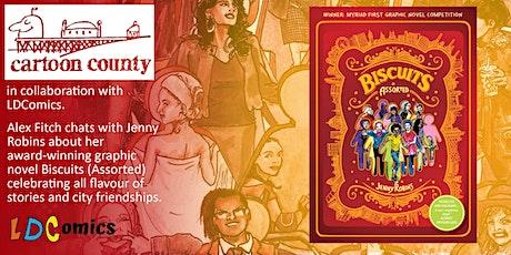 Cartoon County with graphic novelist Jenny Robins tickets
