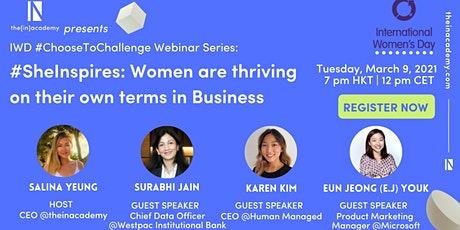 IWD - Women are thriving on their own terms in Business tickets