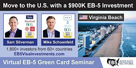 U.S. Green Card Virtual Seminar – Virginia Beach, US tickets