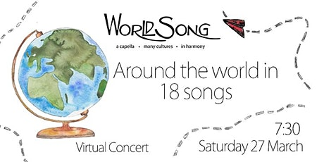 Around the world in 18 songs! tickets