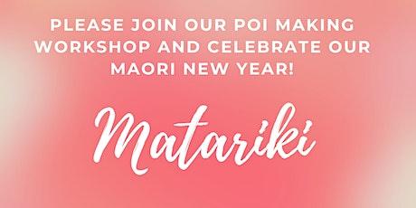 FREE Matariki DIY Poi Workshop tickets