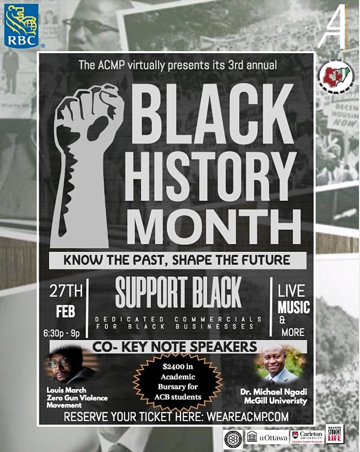 3rd Annual Black History Month Event image