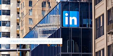 Linkedin - relazioni di qualità per il tuo business biglietti