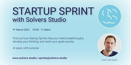 Startup Sprints - What are they? tickets