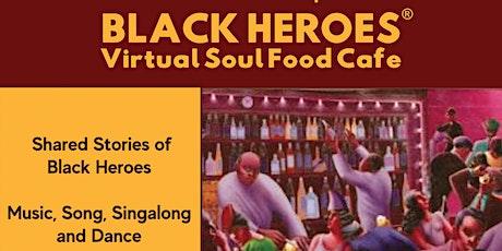 Rudolph Walker CBE of Eastenders visits Black Heroes Virtual Soul Food Cafe tickets