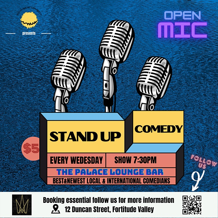 Wednesday Comedy Show at The Palace Lounge Bar image
