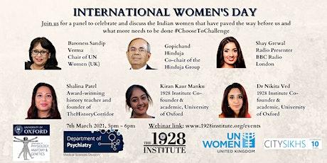 British Indians Celebrating International Women's Day tickets