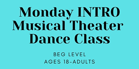 Virtual INTRO Musical Theater Dance Class tickets