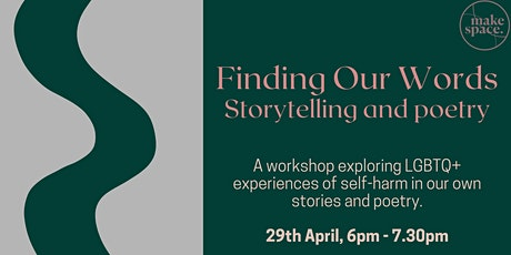 Finding our Words: Storytelling and poetry tickets