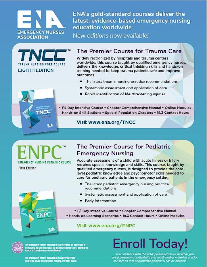 2021 ENPC Provider- Emergency Nursing Pediatric Course image
