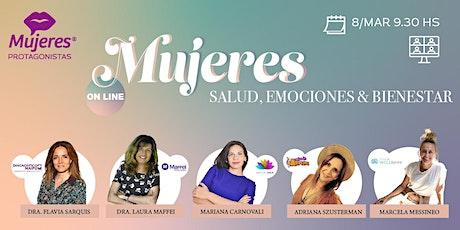 MUJERES -  Salud Emociones & Bienestar tickets