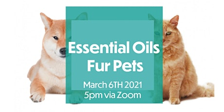 Essential Oils Fur Pets tickets