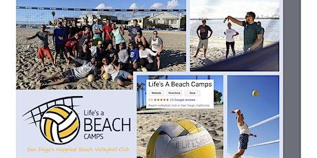 Intermediate Beach Volleyball Clinic tickets