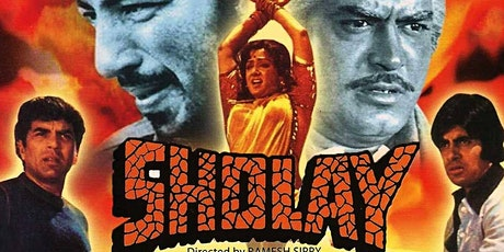 Sholay India Classic Film Night - Drive-In Cinema tickets