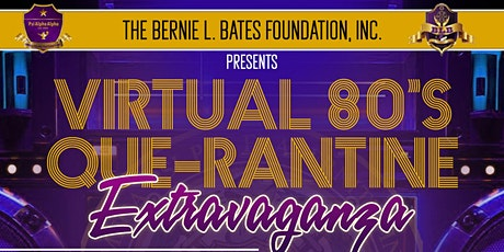 Virtual 80's QUE-rantine Extravaganza tickets
