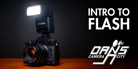 Intro to Flash with your Interchangeable-Lens Camera tickets