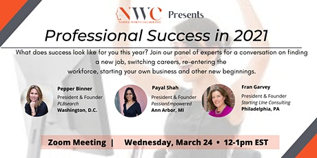 Professional Success in 2021 - What does it look like for you? tickets