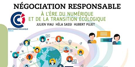 """""""Négociation responsable"""" à l'ère du numérique et de la transition éco billets"""