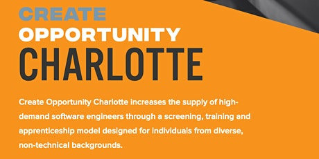 Create Opportunity Charlotte Information Session tickets