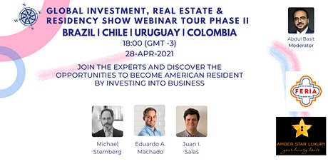 Global Investment, Real Estate & Residency Show II | BRA| CHL | URG | COL tickets