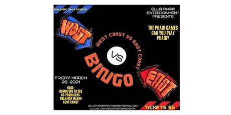The Phair Games | BINGO (West Coast vs East Coast) tickets
