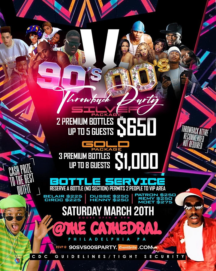 90'S VS 00'S THROWBACK PARTY image