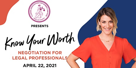 Know Your Worth: Negotiation for Legal Professionals tickets