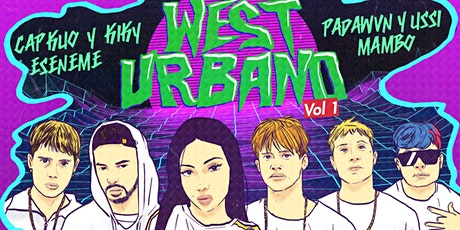 WEST URBANO VOL 1  // 14 MARZO entradas