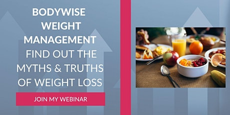 BodyWise Secrets To Sustained Weight Loss tickets