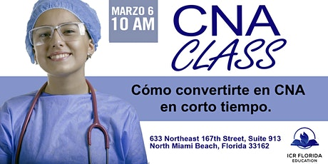 CNA CLASS /CLASE DE CNA EN NORTH MIAMI tickets